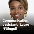 Communication assistant (Laure N'Singui)