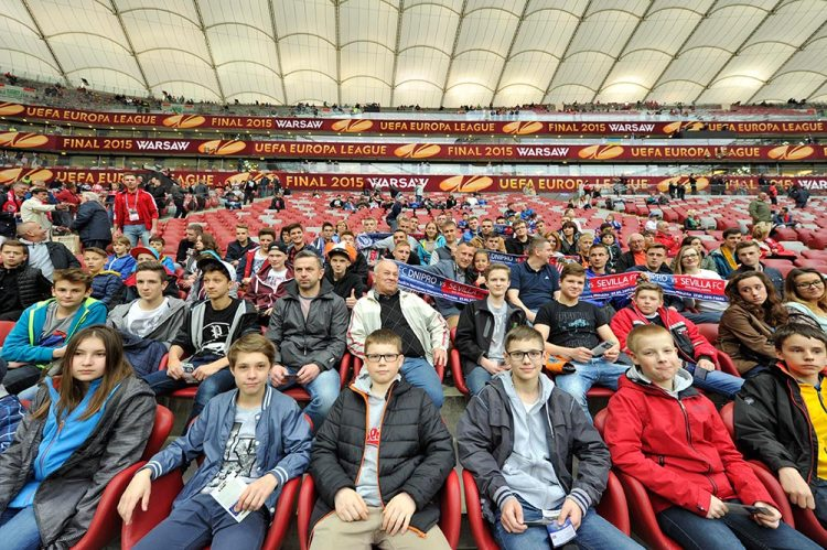 UEFA UEL Final Week – Warsaw MD on May 27, 2015 in Warsaw, Poland.