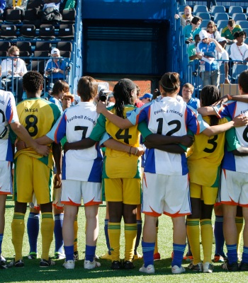 Streetfootballworld festival opens in Lyon