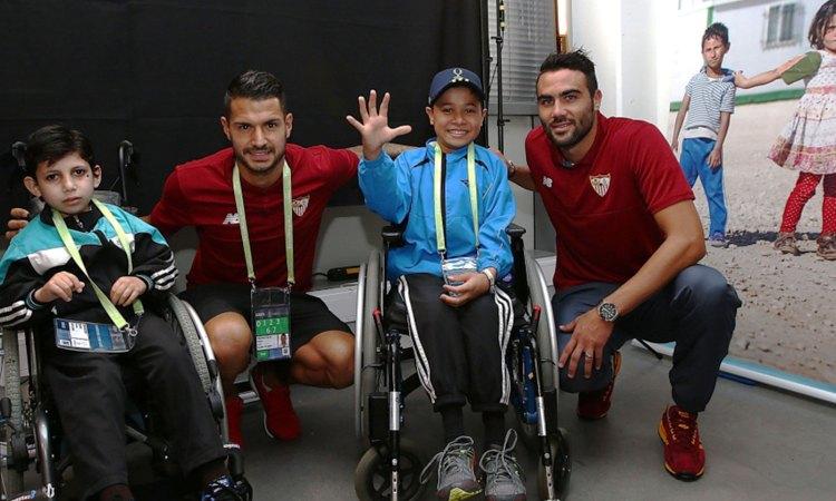 UEFA Super Cup 2016 Trondheim – UEFA Foundation for Children & Handicap International