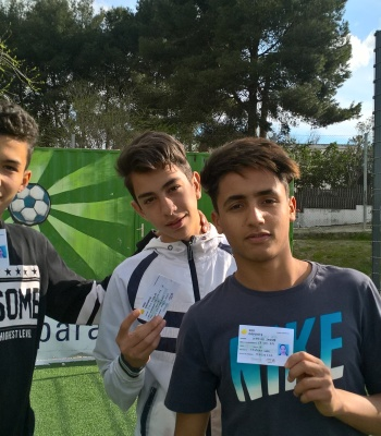 Access cards help to promote integration and respect in Cañada Real