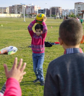 Children Activities, Activities in public garden, New Damietta