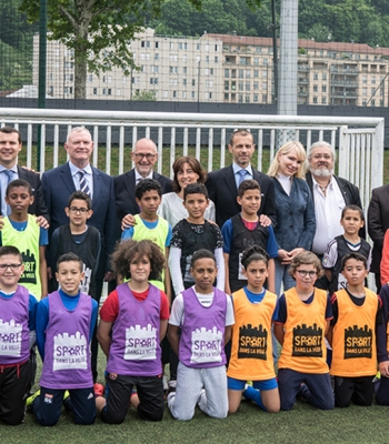 <b>Winners of 2018 UEFA Foundation</b> for Children Awards announced