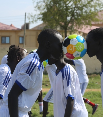 Open Fun Football Schools programme – Playing for peace