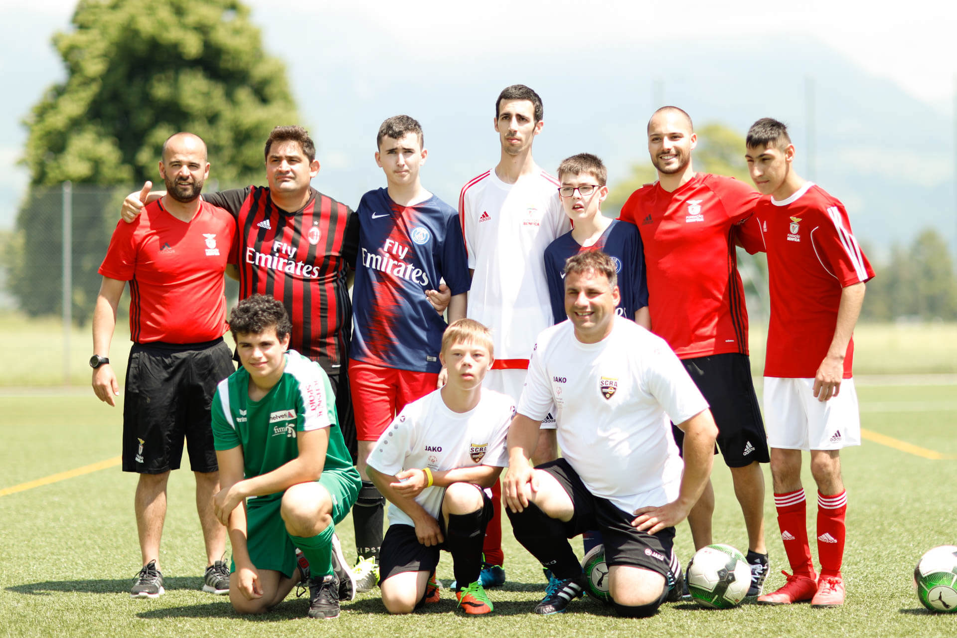 Football in More - Liechtenstein - team photo