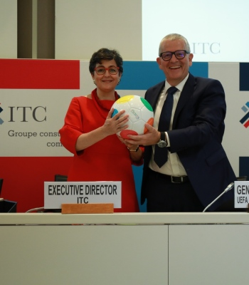Kick for Trade – UEFA Foundation for Children and ITC team up for youth social inclusion