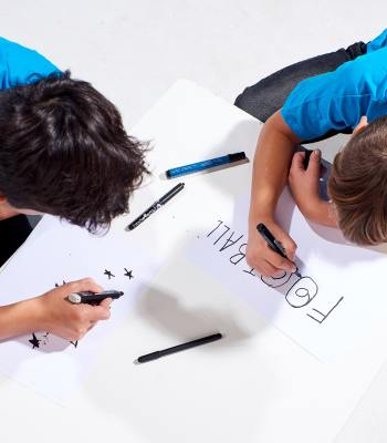 Two boys from Vilnius help design 2020 UEFA Super Cup match ball