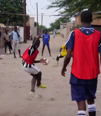 UEFA Foundation for Children supporting street children in Senegal