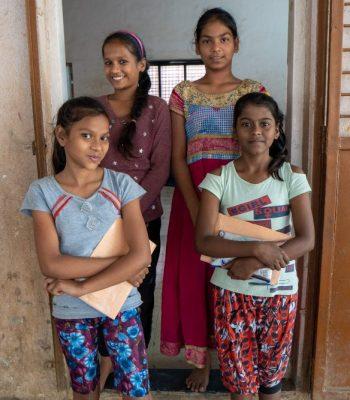 UEFA Foundation for Children promoting education for girls in Mumbai