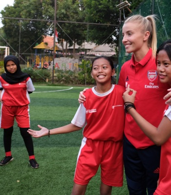 The Arsenal Foundation helping children in Indonesia
