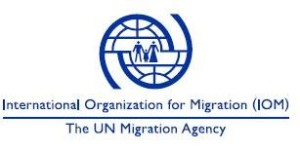 Logo- International organisation for migrant