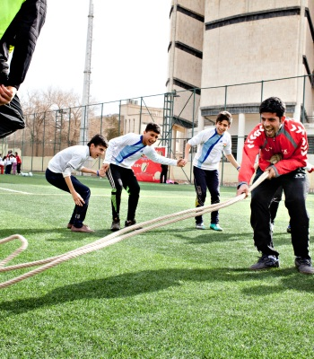 Bringing Fun Football back to Children in Syria
